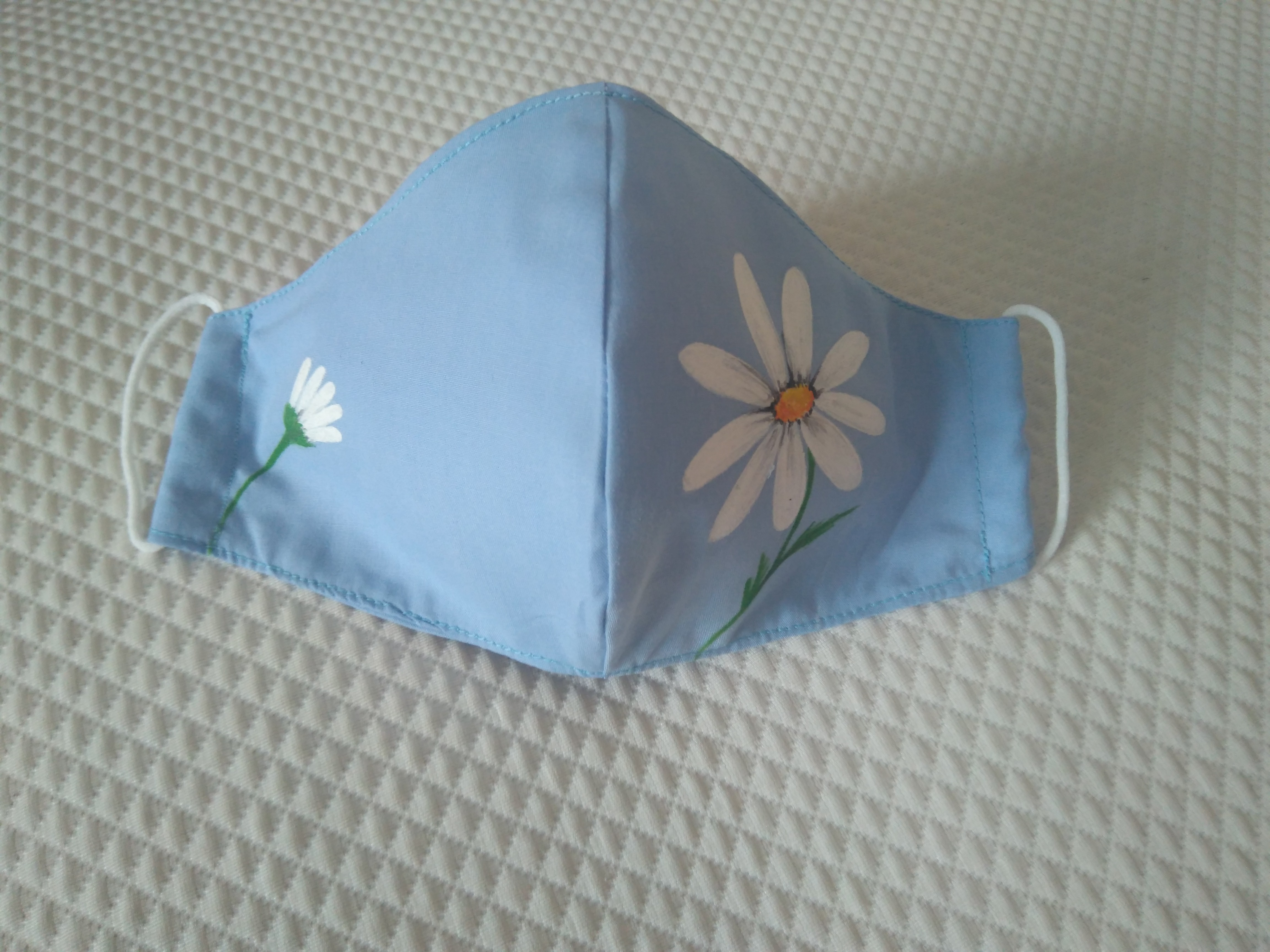 Mascarilla flores