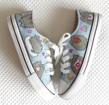 Zapatillas Converse gatos
