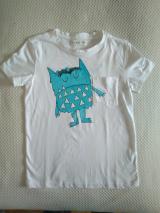 Camiseta monstruo azul
