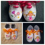 Collage zapatillas piruleta