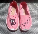 Zapatillas Esparto gatito