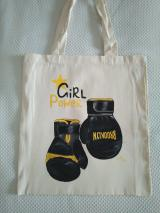 Bolso de tela Girl Power Boxing