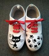 Zapatillas Gato Negro