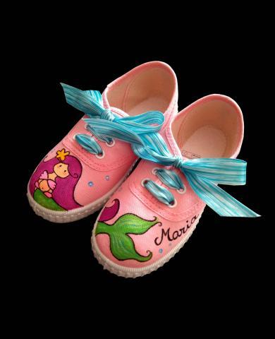 Zapatillas para niña