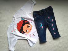 Camiseta niña Frida y pantalón
