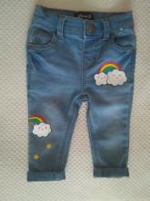 Pantalón infantil nubes